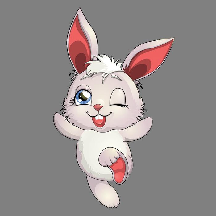 Clipart rabbit profile.  picshare ru pinterest