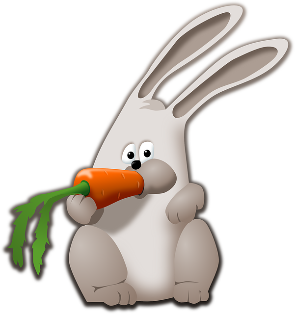 Free pictures animal images. Clipart rabbit swimming