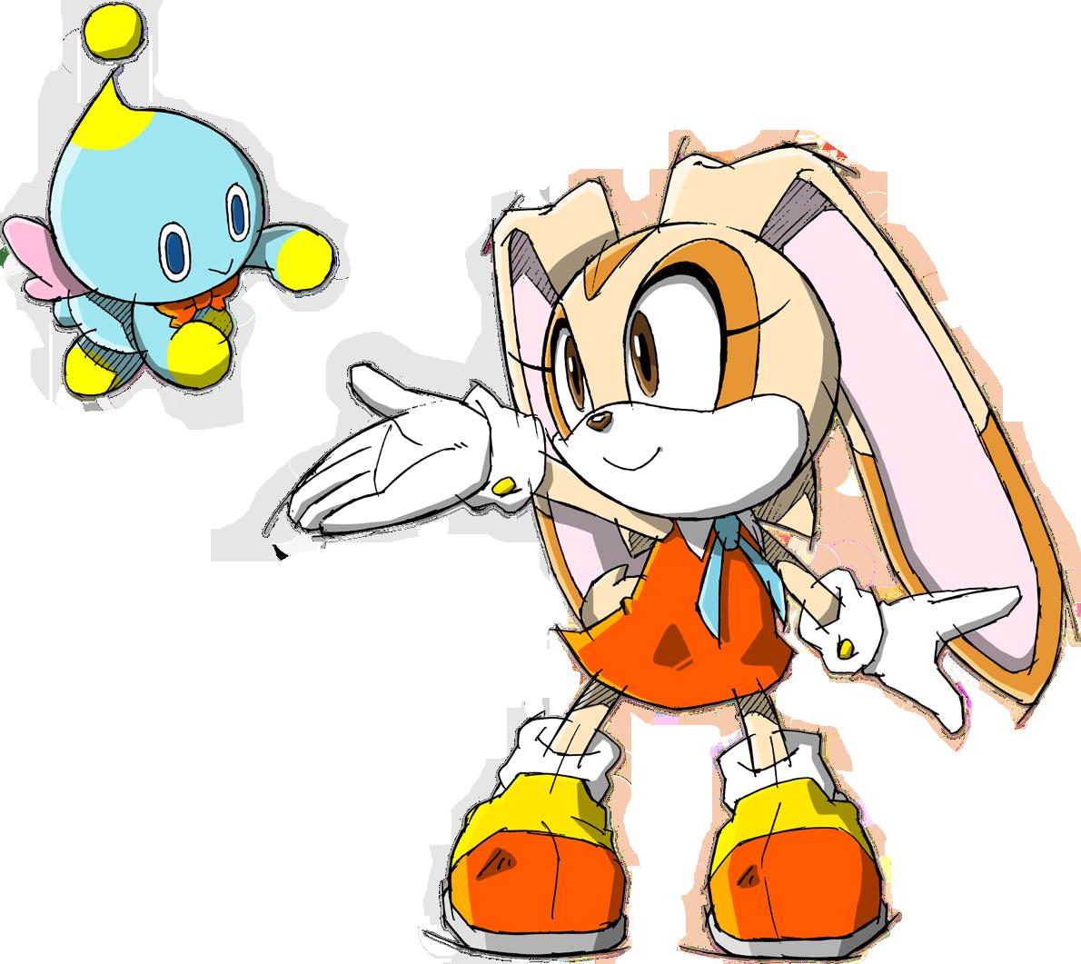 Image sonic channel cream. Clipart rabbit underground