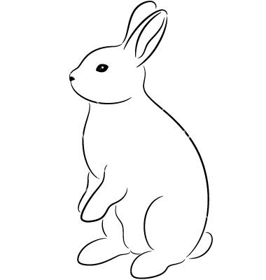 Clipart rabbit vector. Free cliparts download clip