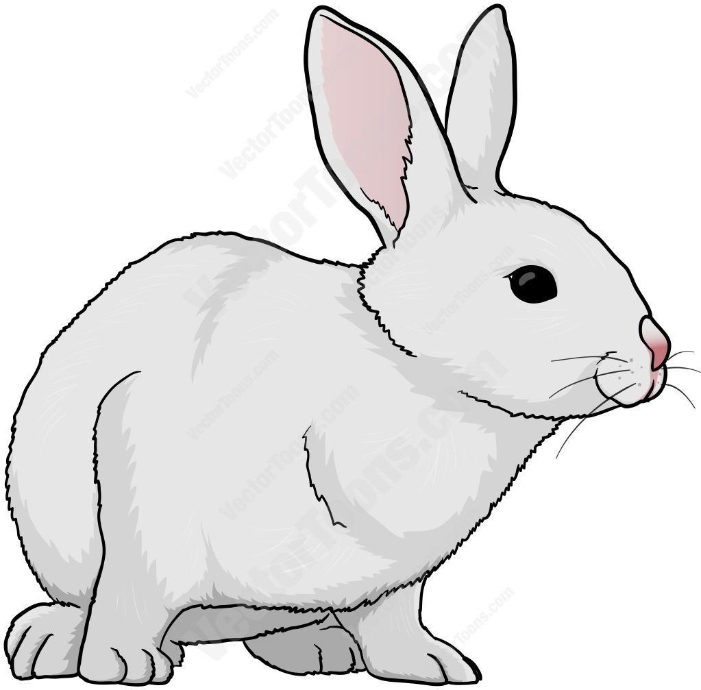 Clipart rabbit vector. Clip art library