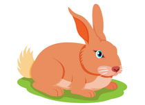 Bunny clipart home. Free rabbit clip art