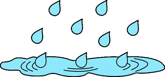 Rain clip art images. Raindrop clipart splashing