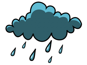 Nice cloud clip art. Clipart rain