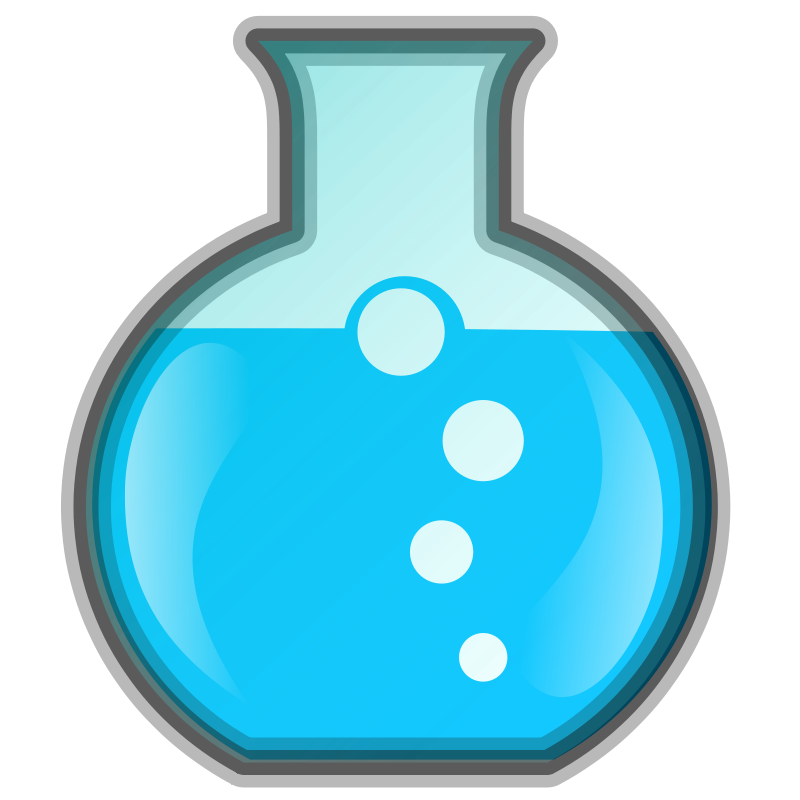 Clipart science bottle. Acids and bases acid