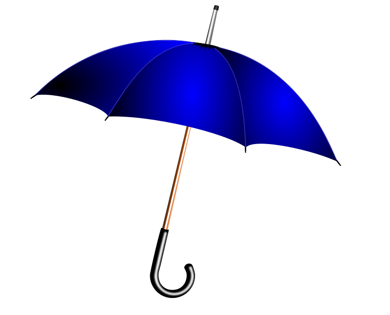 Weather storms science theme. Clipart umbrella winter