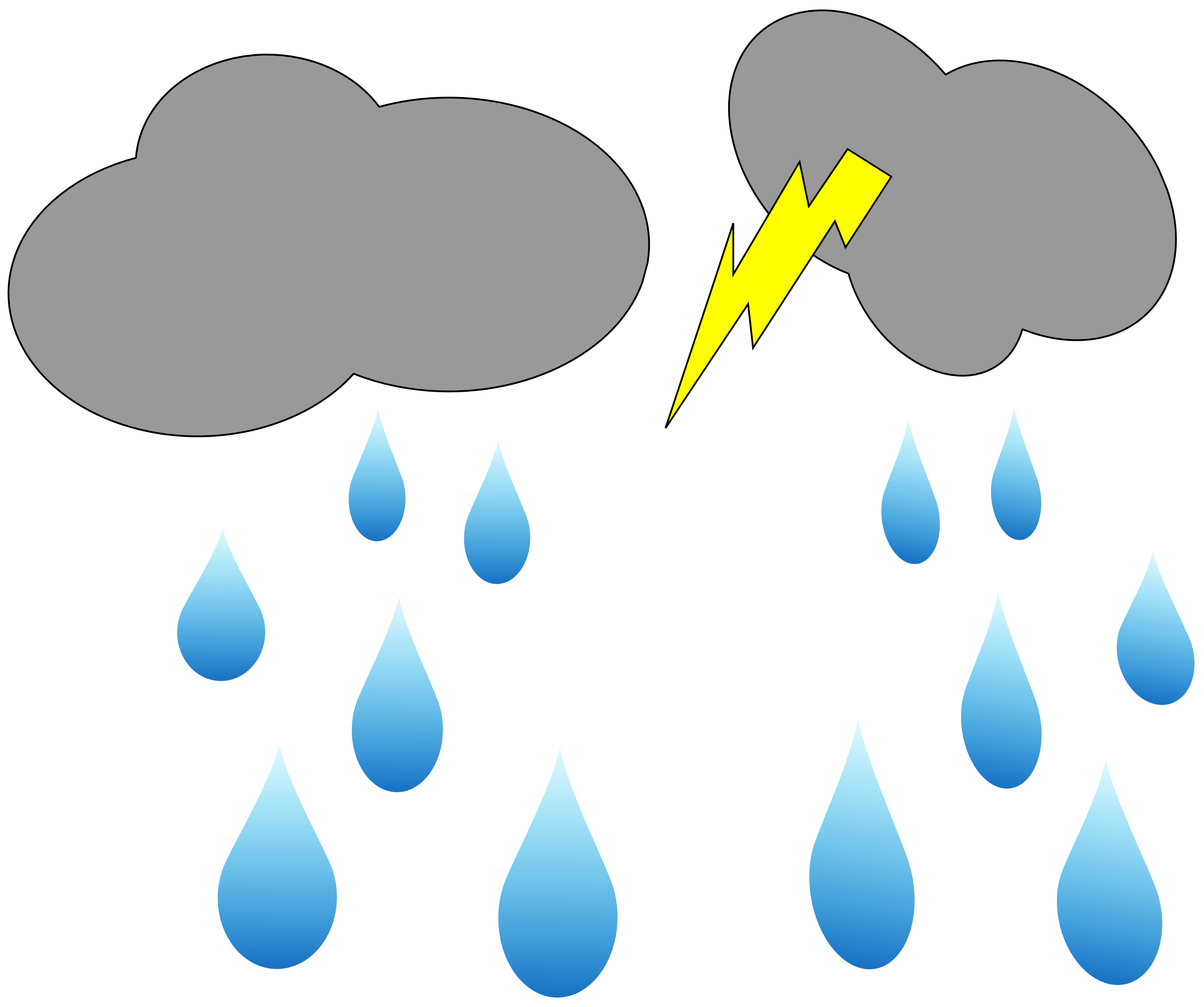 collection of rain. Hurricane clipart stormy day