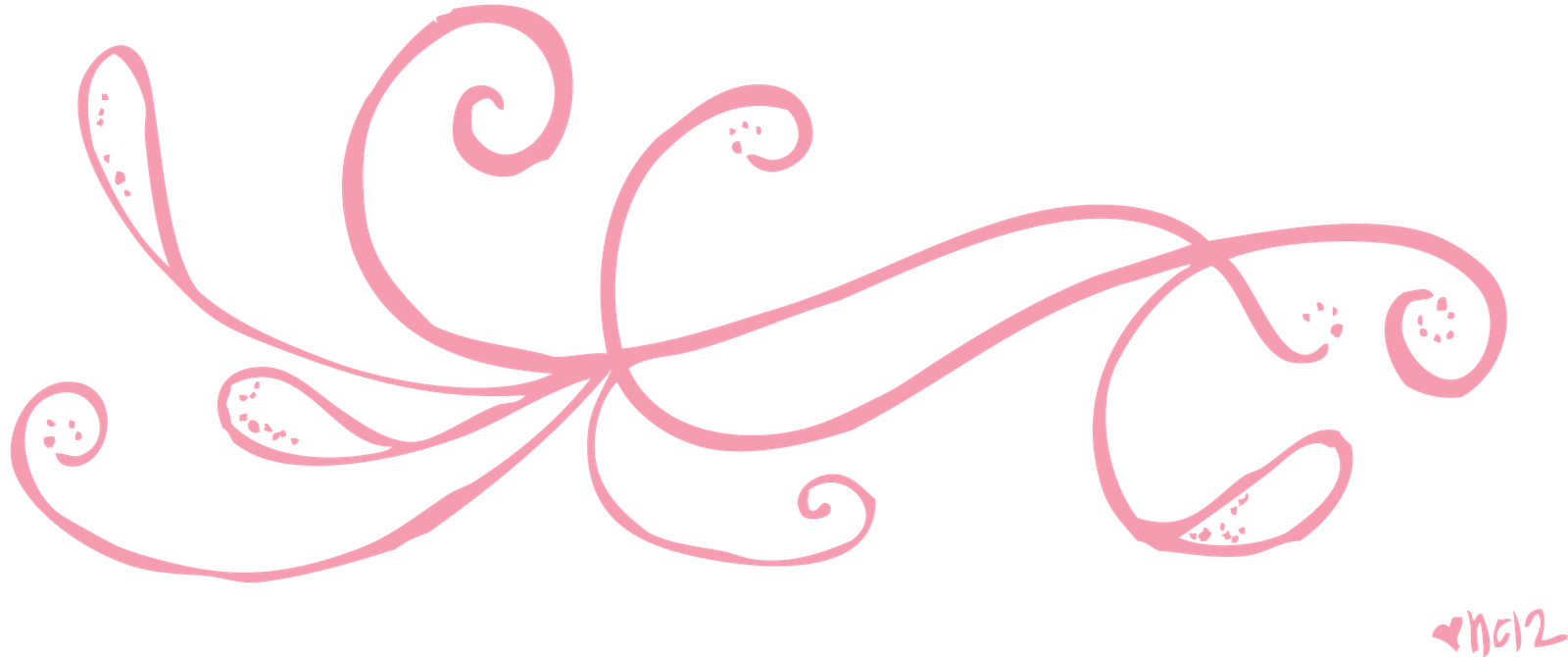 Free clipart february. Pretty lines cliparts download