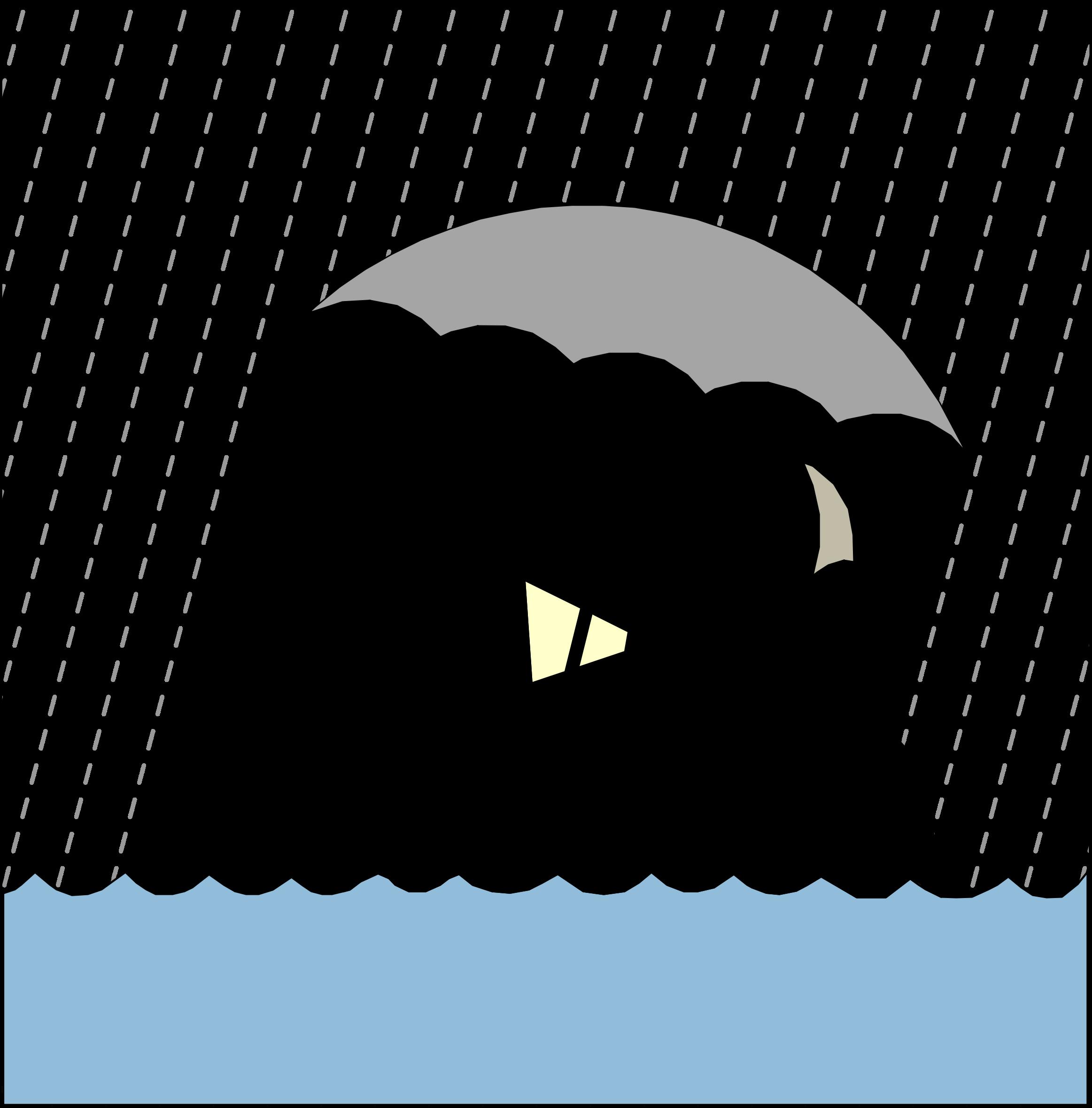 Raining animation big image. Clipart rain cartoon