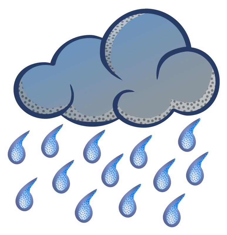 Cloudy clipart man in rain. A southern sleuth and