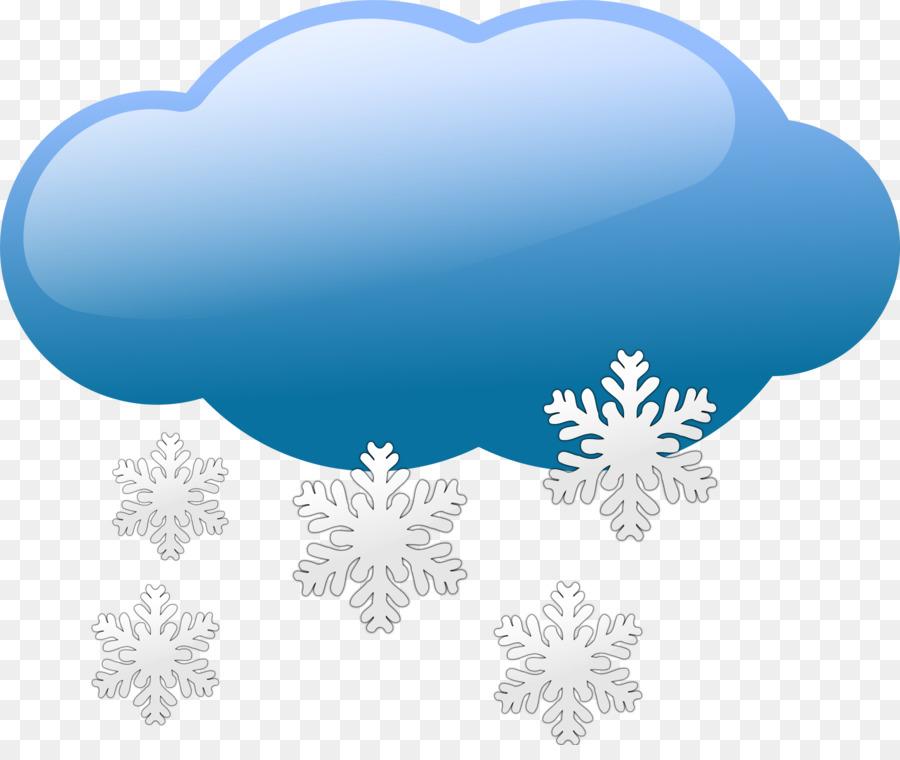 Cloud snow winter . Clipart rain cold