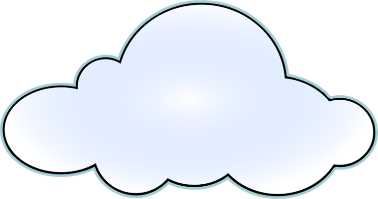 Cloud wikiclipart . Clipart rain cute