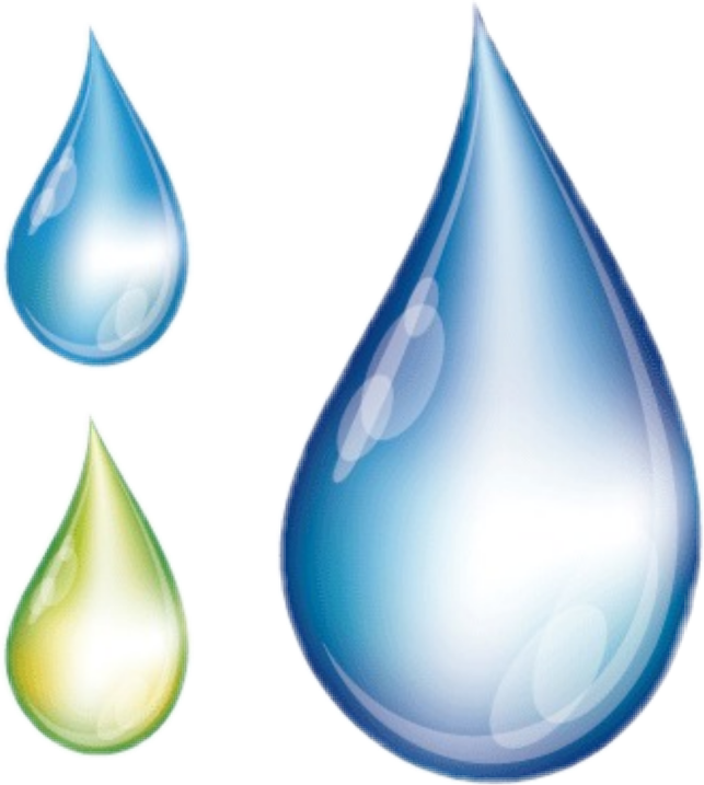 Clipart rain drip. Drops water sticker by