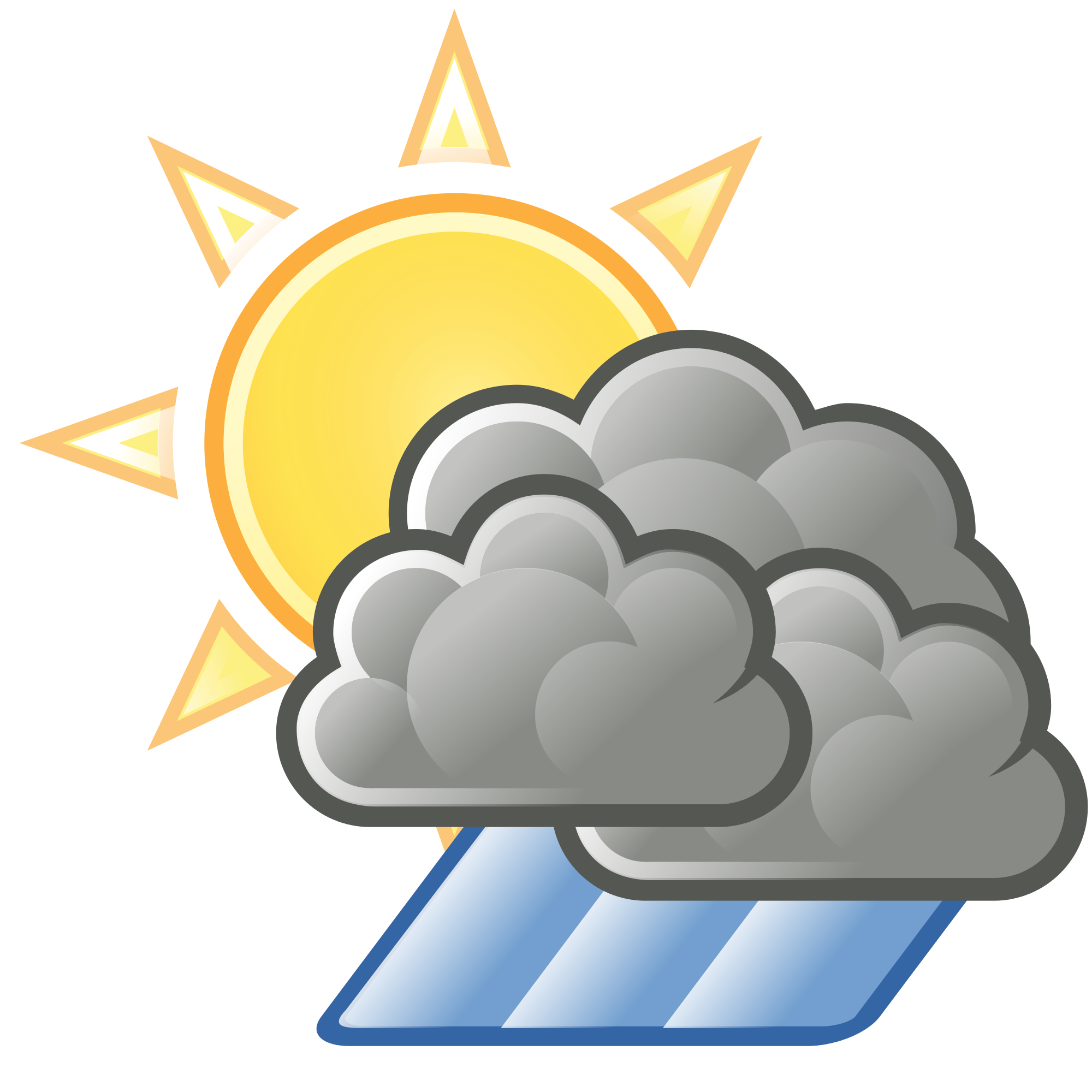 Showering clipart inclement weather. File sun clouds hard