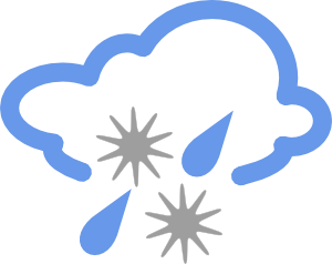Clipart rain hail. And weather symbol clip