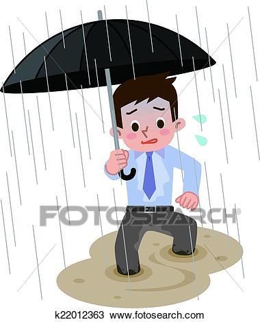 Clipart rain heavy rain. Station