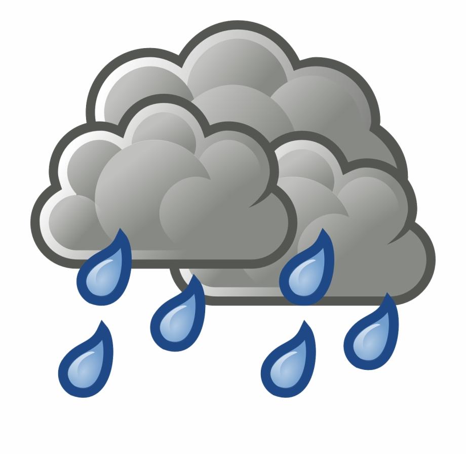 Cloudy rainy png image. Clipart rain heavy rain