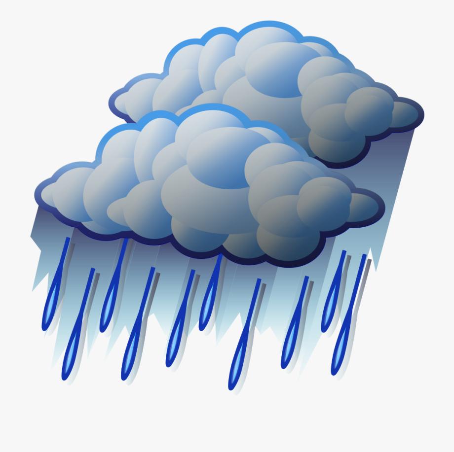 Clipart rain heavy rain. Thunder clip art