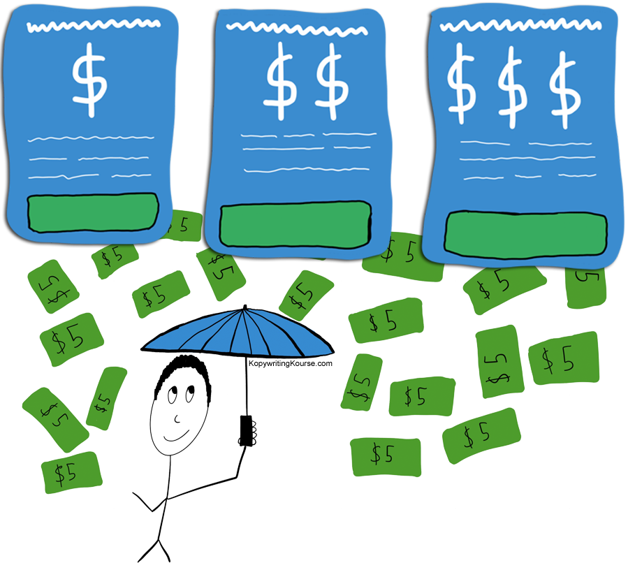 Clipart rain money. Pricing examples how to