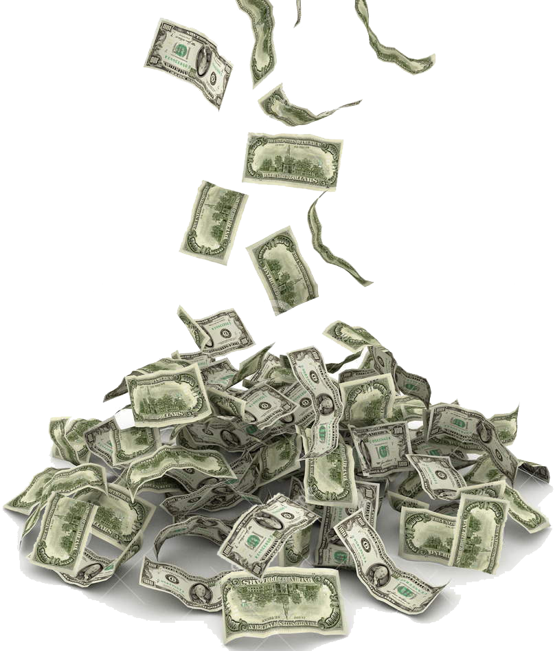 money pile png