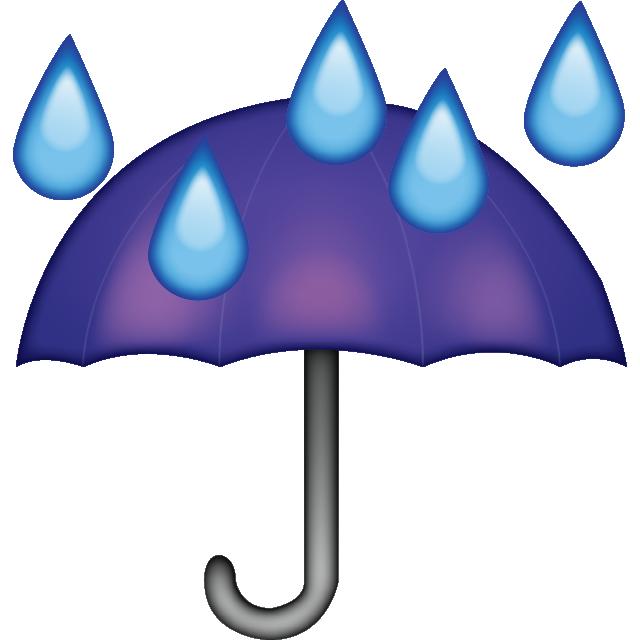 Download umbrella emoji island. Showering clipart rain drops