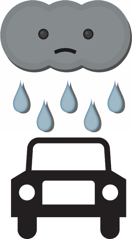Rain go away thoughts. Evaporation clipart dryer sheet