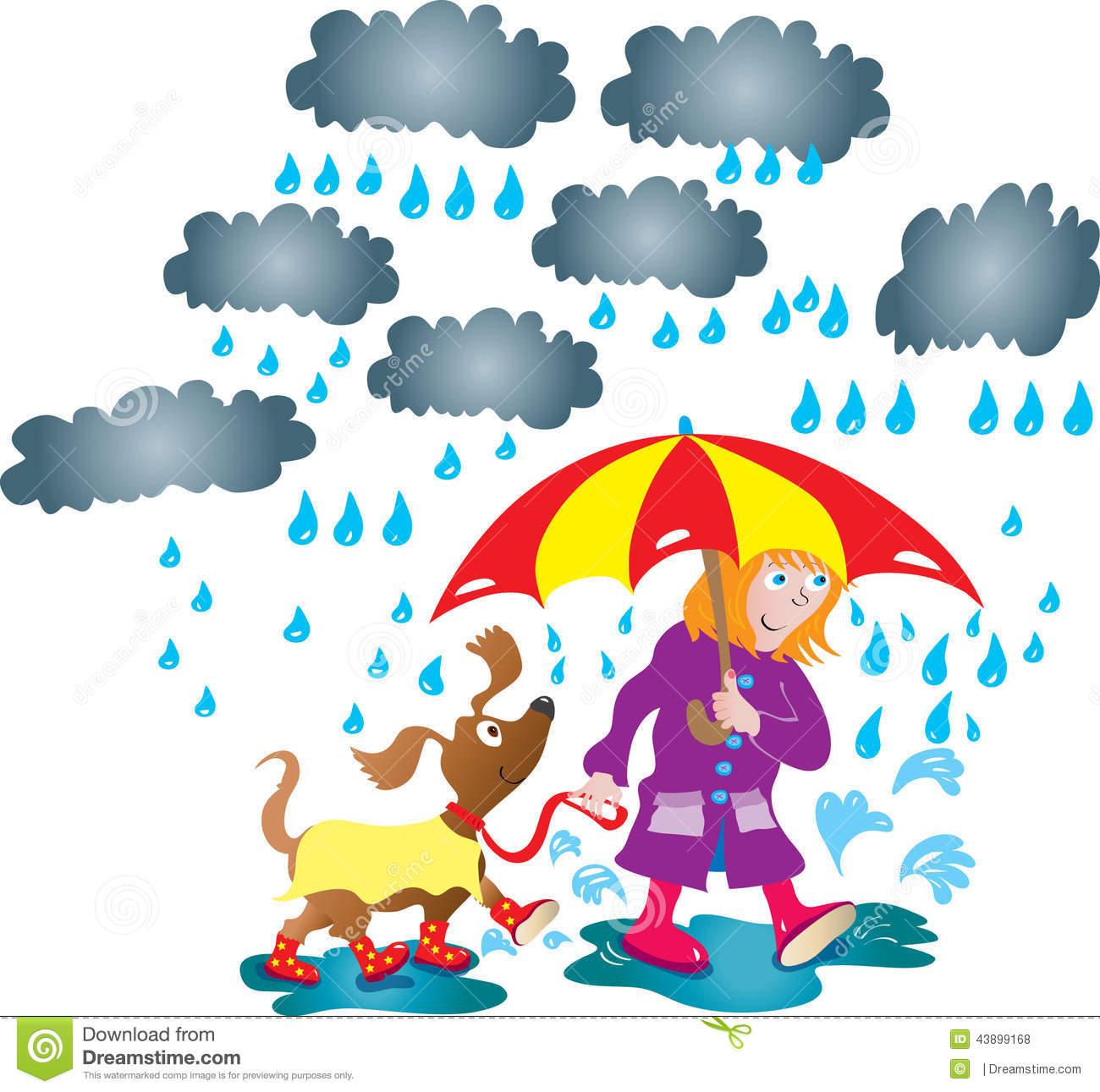 rainy day clip. Wet clipart animated
