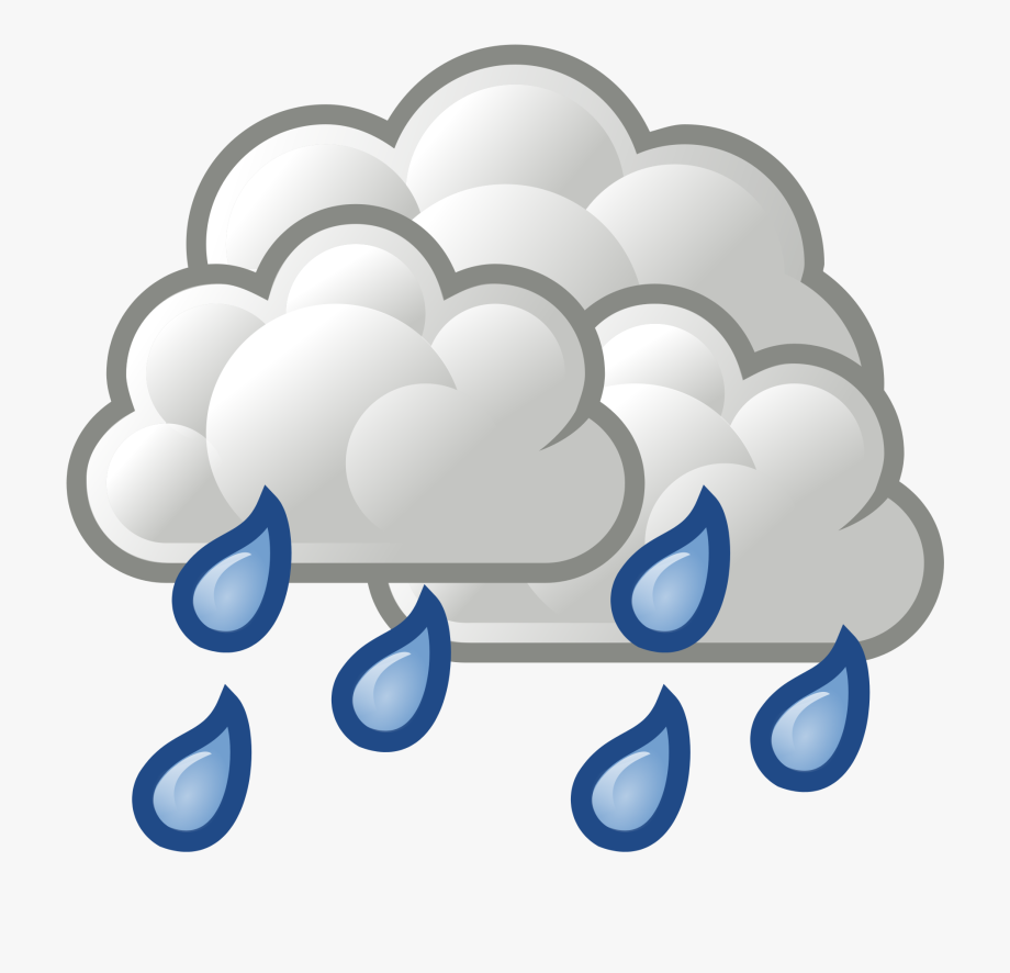 Showering clipart rain shower. Png library scattered