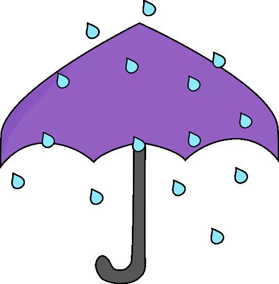 Rain clip art vector. Clipart umbrella april shower