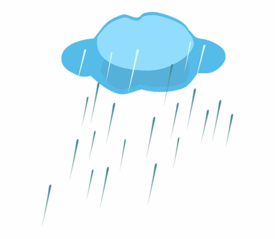 Clipart rain rain shower. Clouds rainy free png