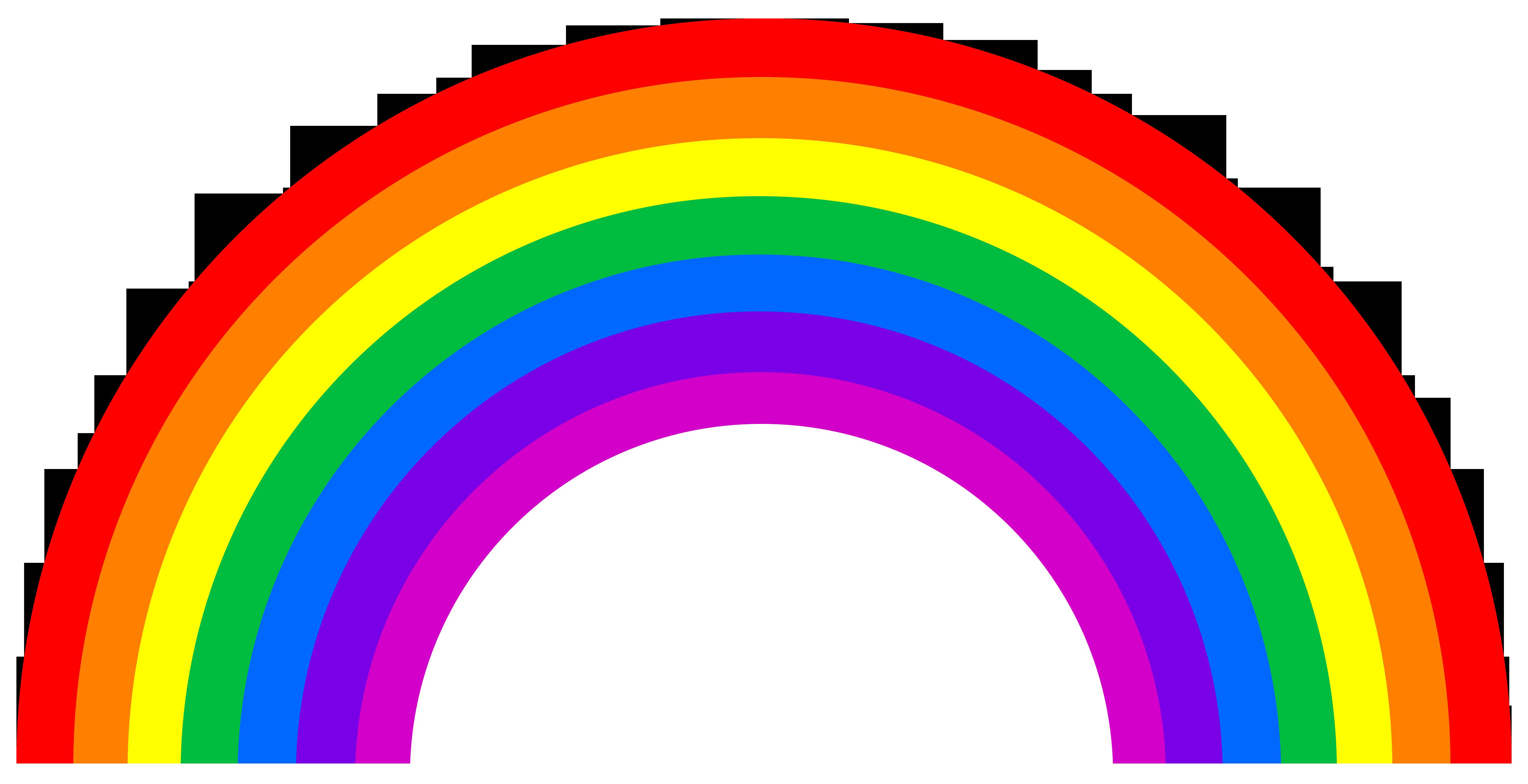Clipart rainbow cute. Small arc free clip