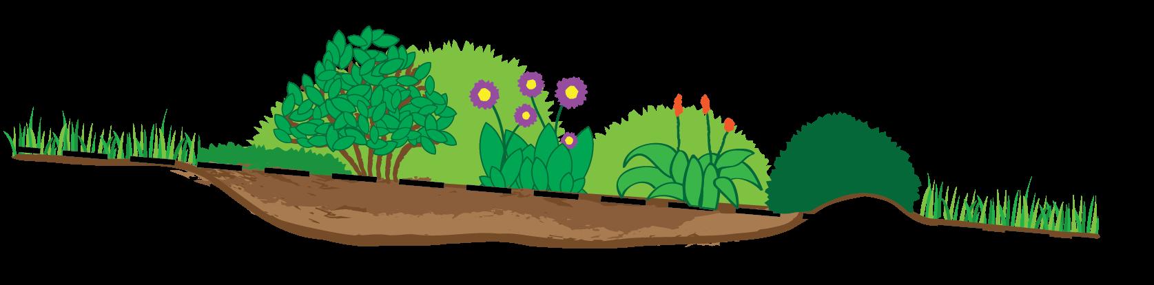 Garden clipart habitat. Rain clean foundation