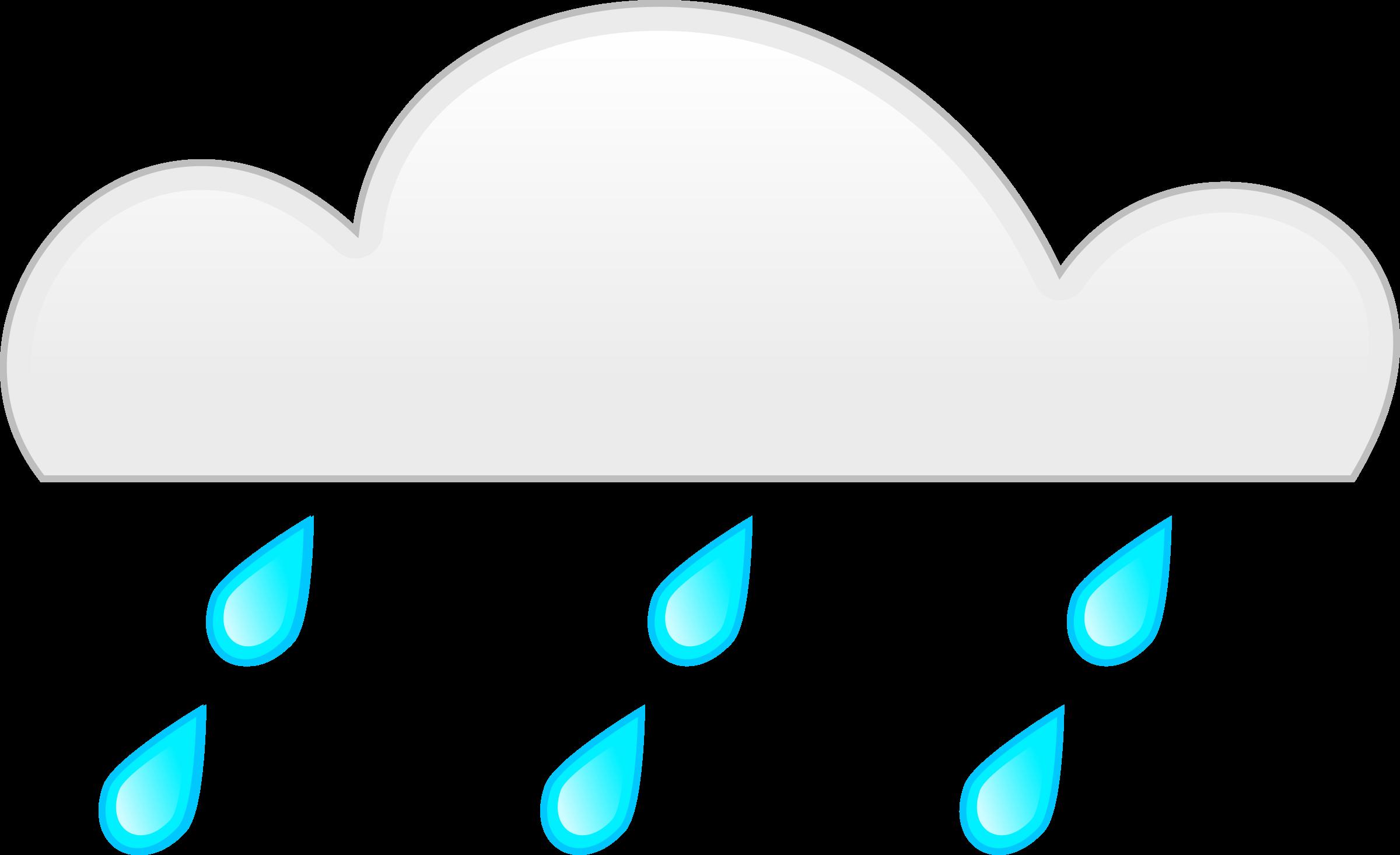 Big image png. Clipart rain rainfall