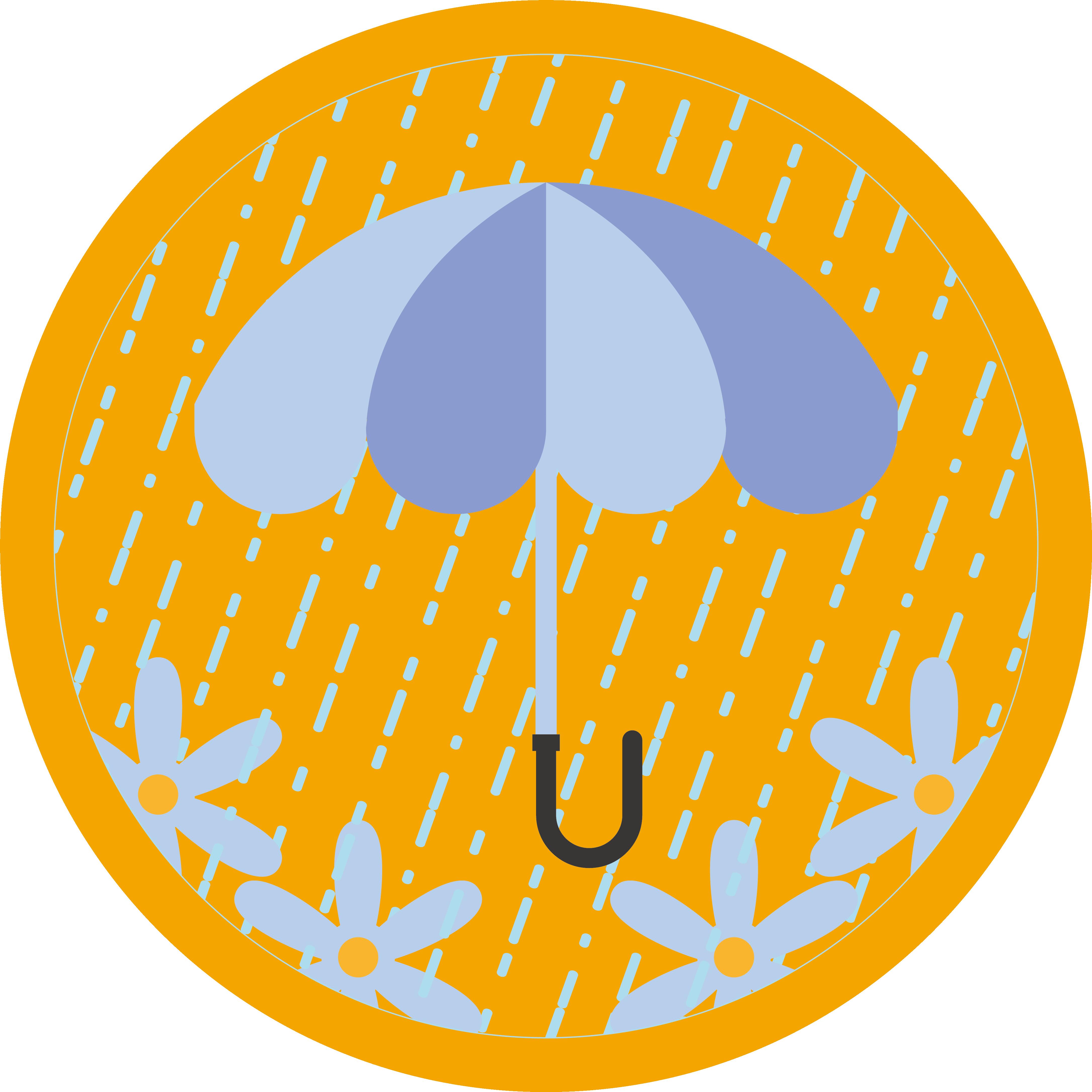 Clipart rain rainny. Clip art pink rainy