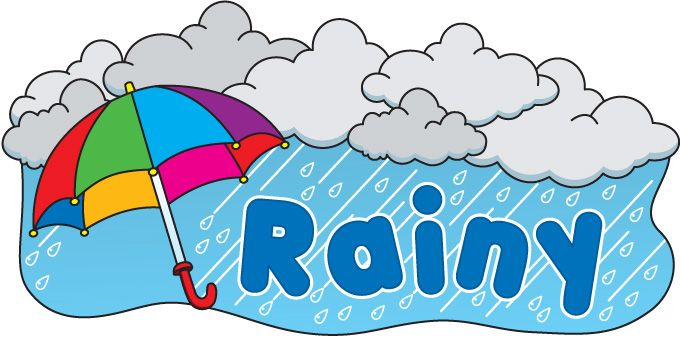 Weather reference misc clip. Windy clipart rainy day