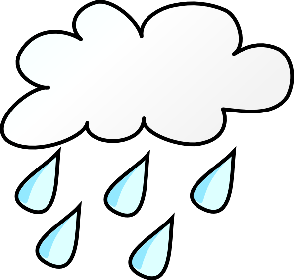 Weather clip art at. Clipart rain rainy climate