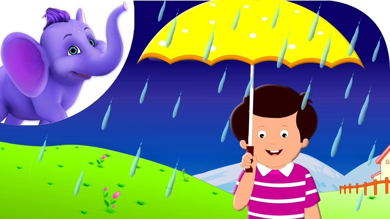 Rain on the green. Win clipart rainy window