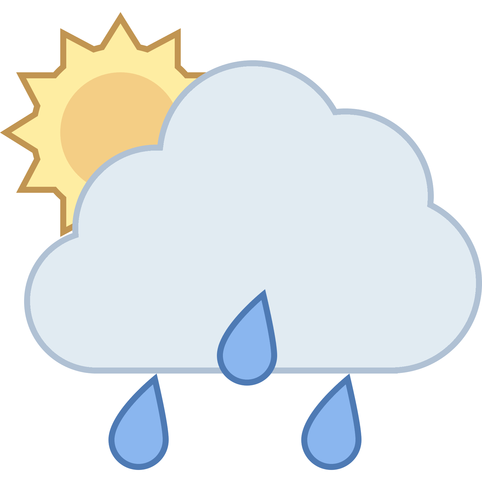 Ic ne rain cloud. Cloudy clipart cluds