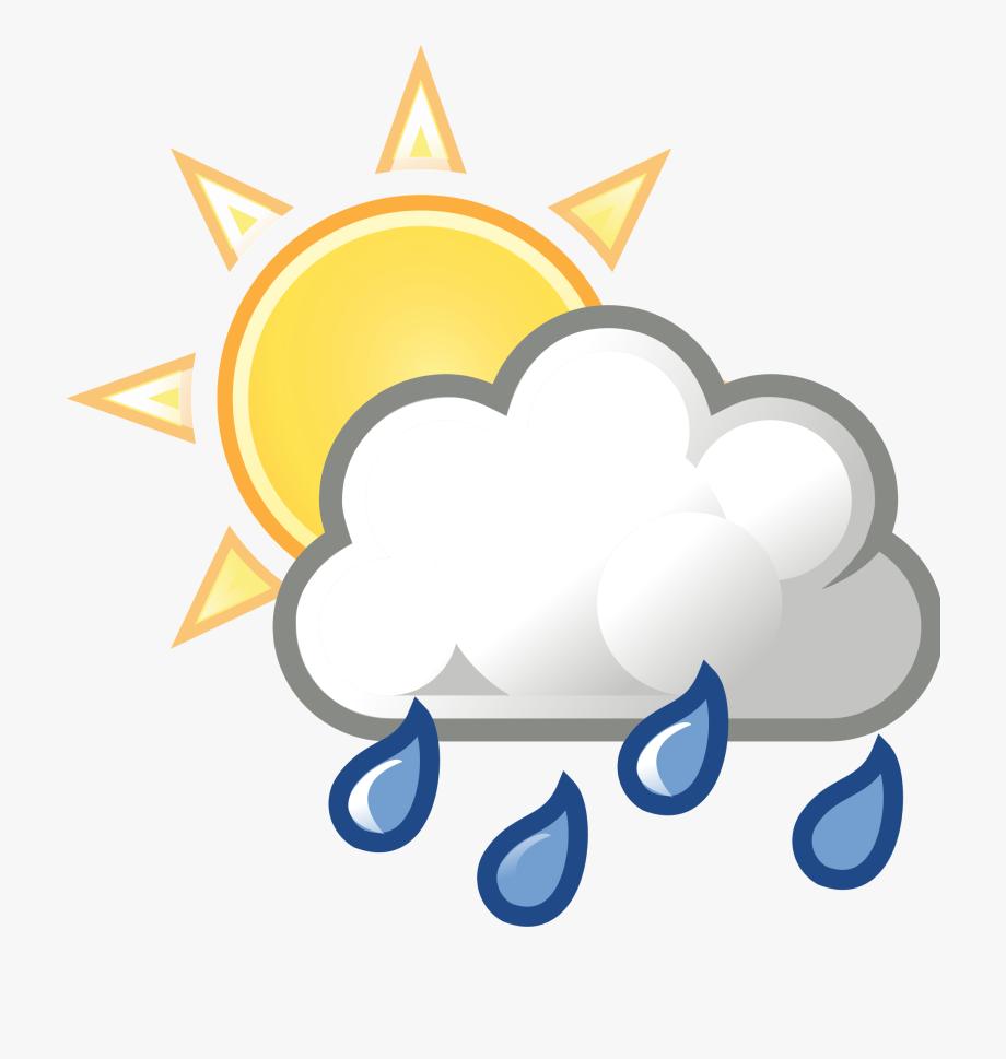 Clip art library download. Clipart rain sun
