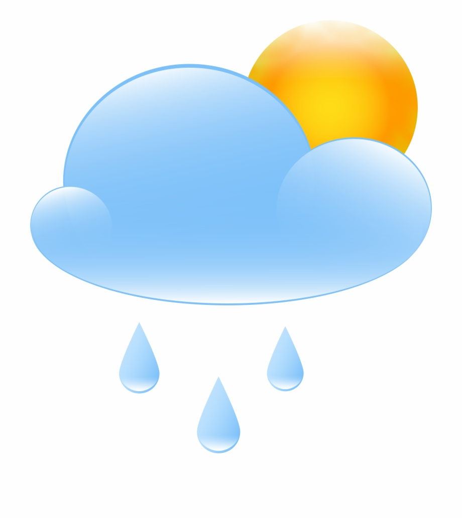 Partly with sun and. Cloudy clipart cool climate