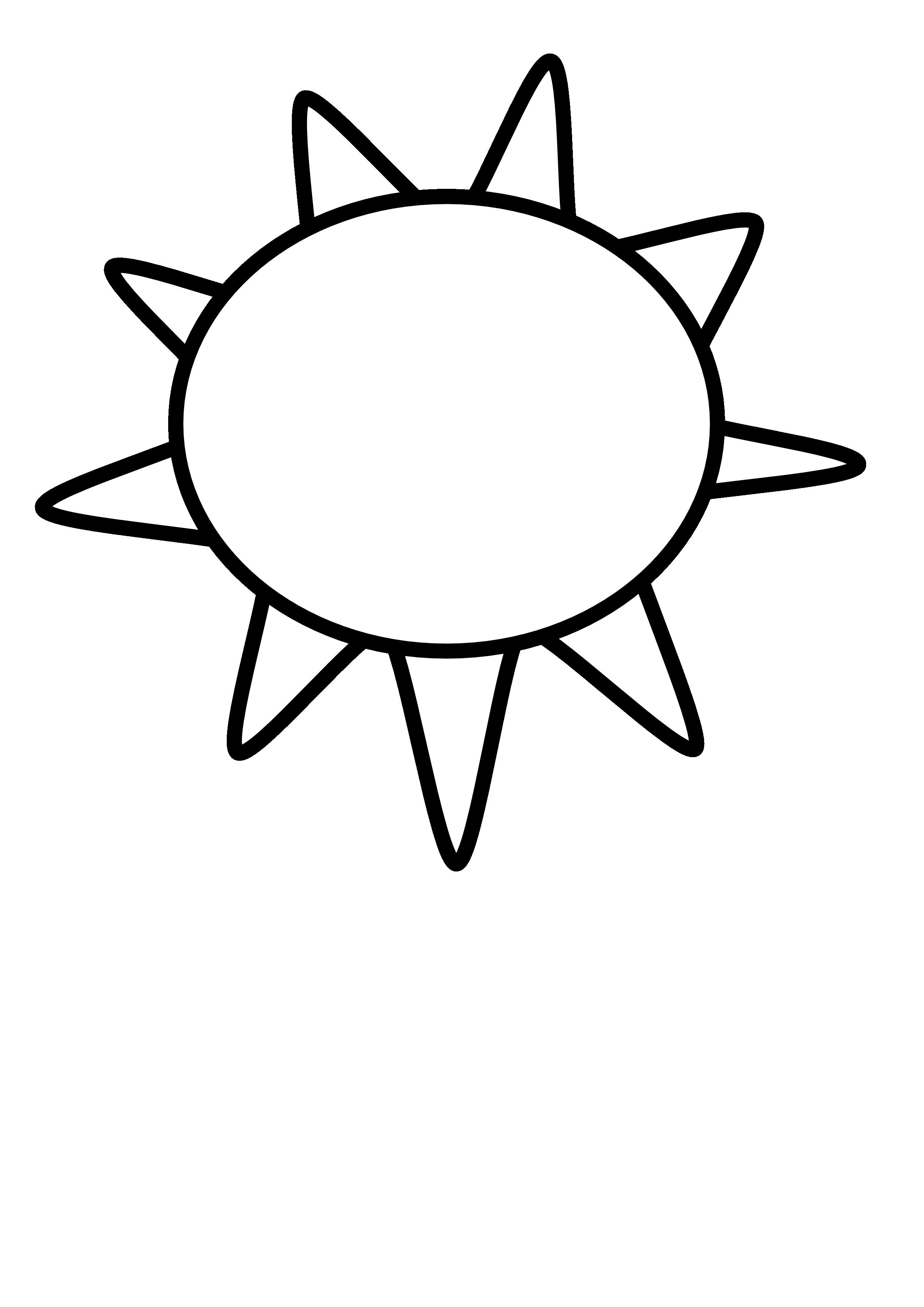 Sun black and white. Moon clipart bitmap