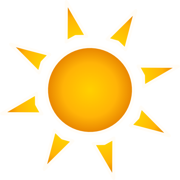 Sun clip art at. Clipart sunshine large