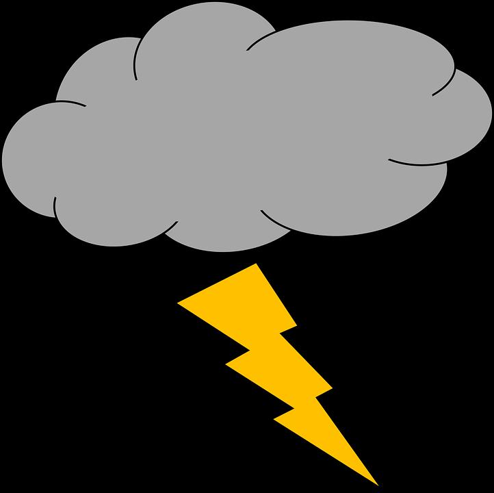 Lightning clipart royalty free. Cartoon rain clouds shop