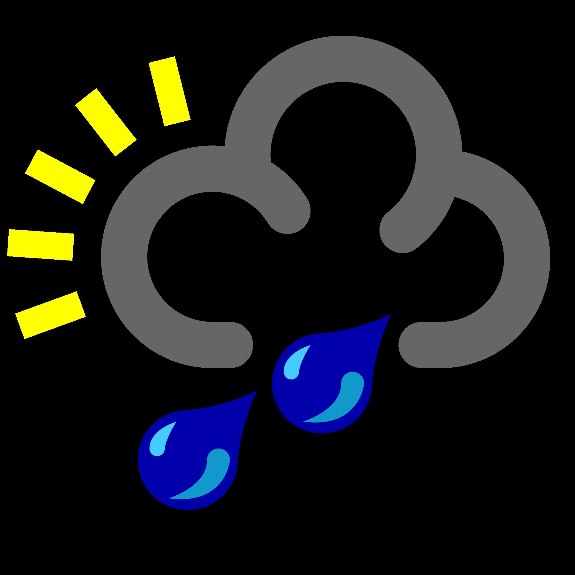 Showering clipart rain drops. File heavy shower transparent