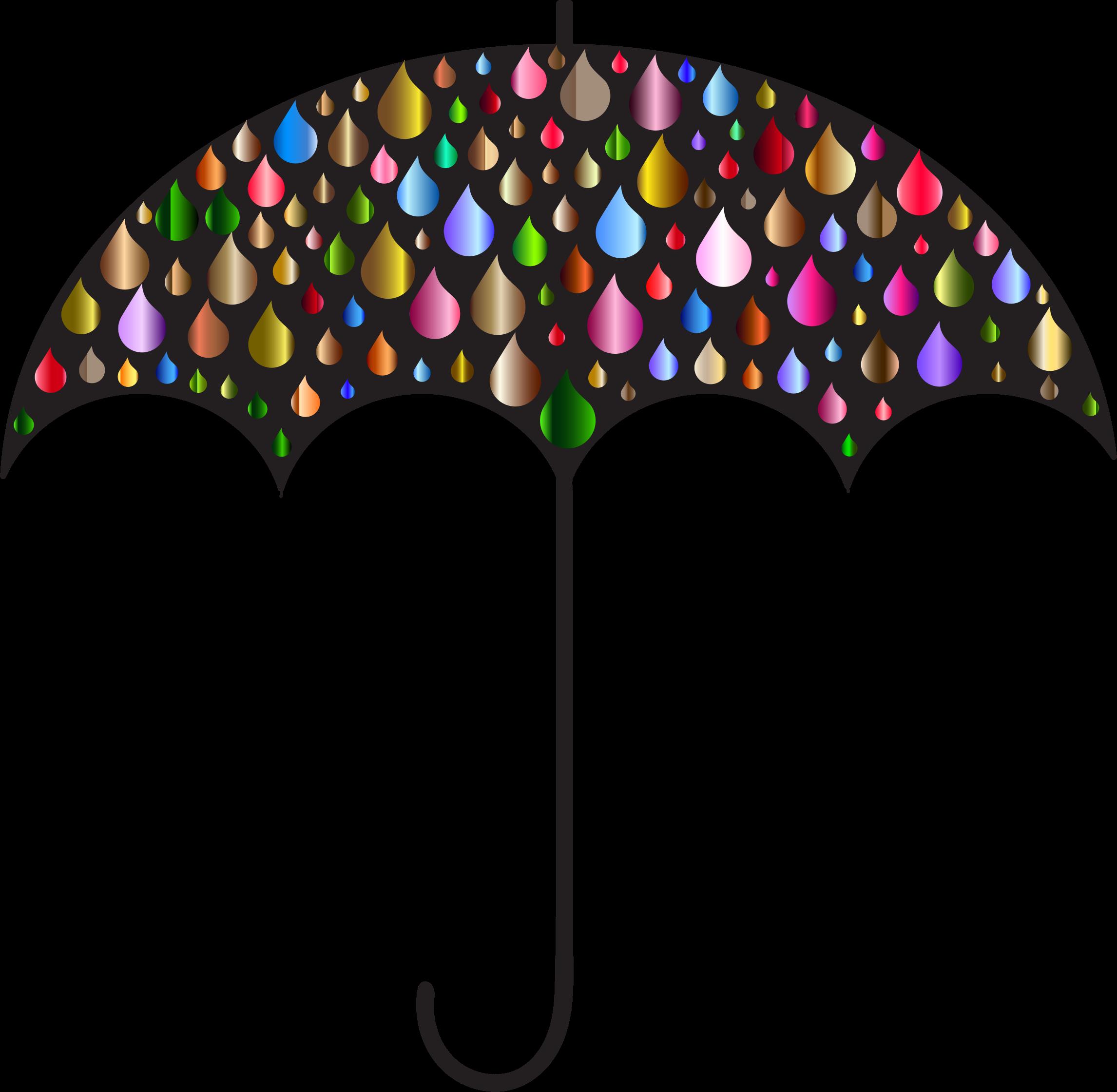 Clipart rain umbrella. Silhouette clip art at