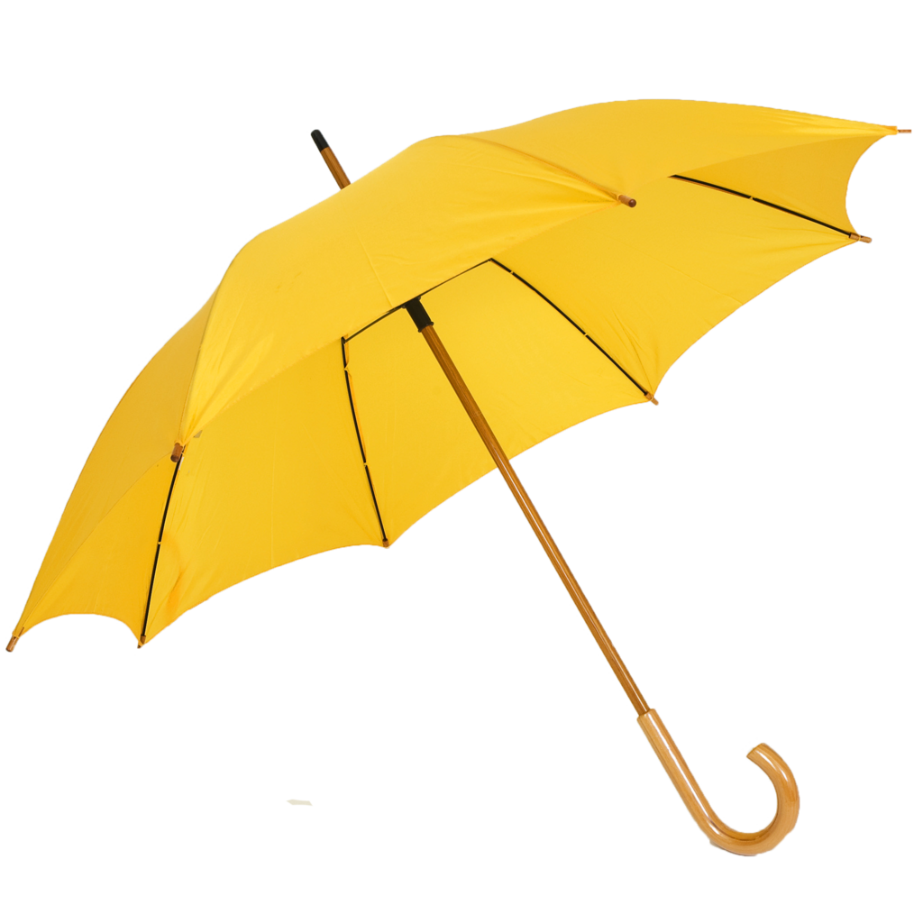 Corporate gift promotional color. Clipart umbrella yellow umbrella