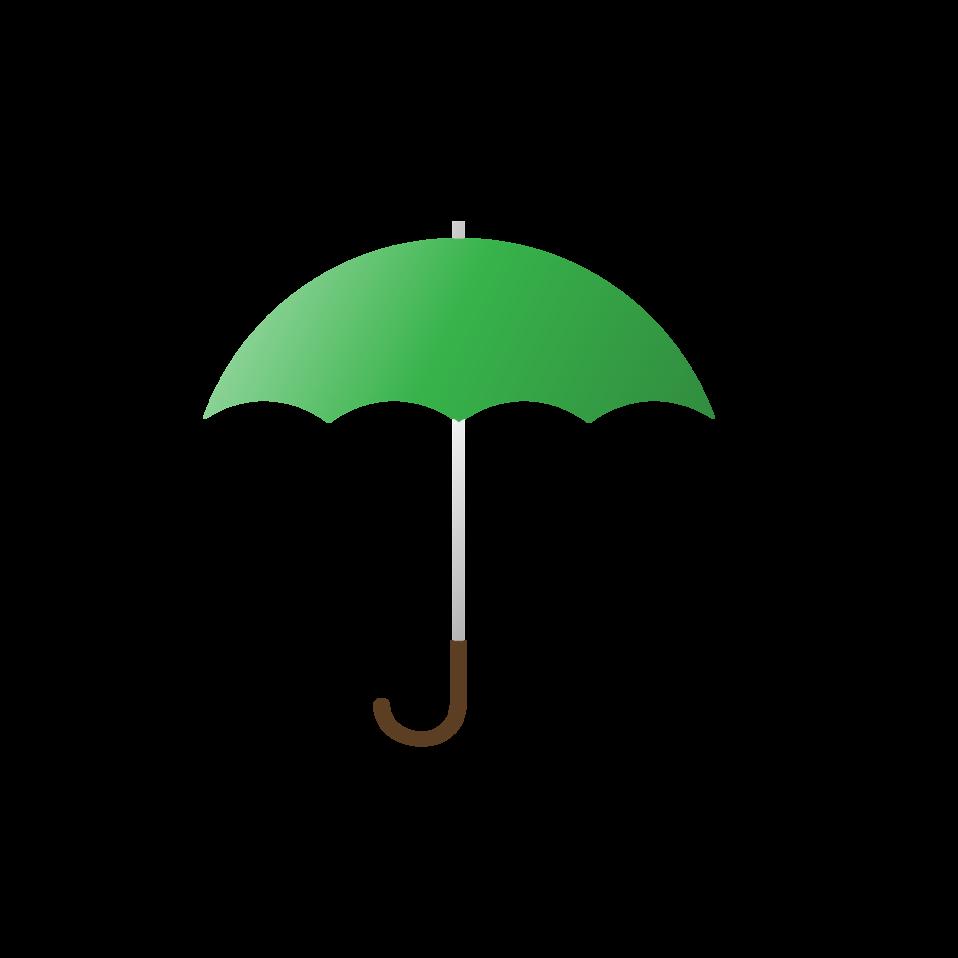 Clipart umbrella public domain. Clip art image green