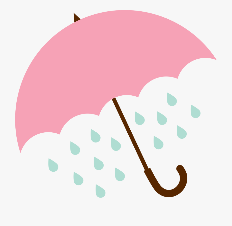 And svg cut file. Clipart rain umbrella