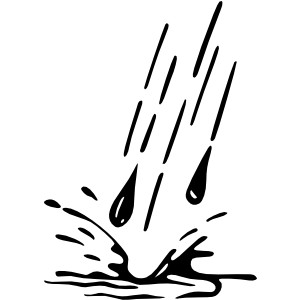 Panda free images . Clipart rain water