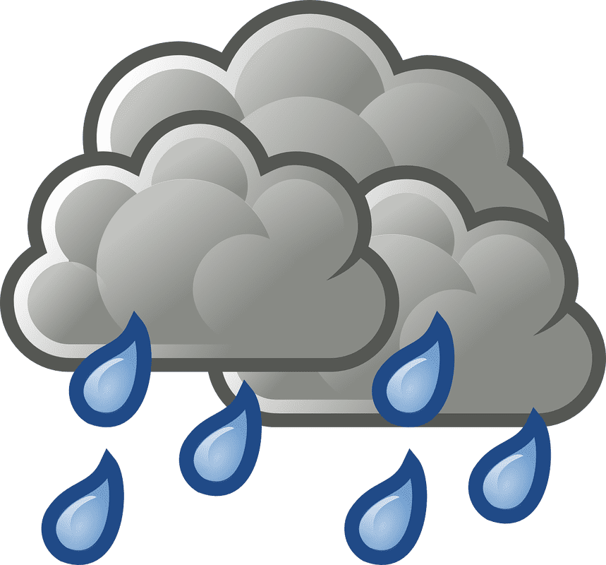 Windy clipart windy symbol. Weather sunny cloudy rainy